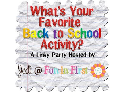 What's Your Favorite Back to School Activity?