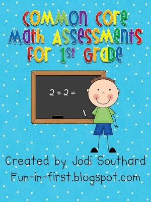 Common Core Math Assessment Packet