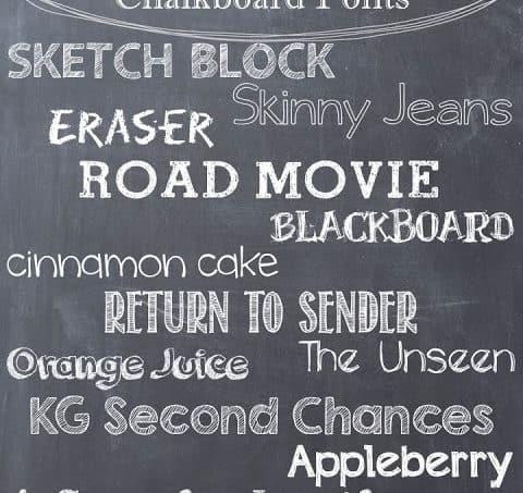 Chalkboard Craze