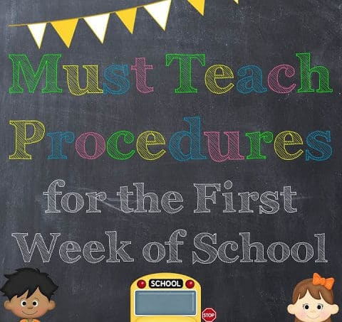 1st Day of School Tips