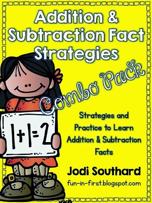 http://www.teacherspayteachers.com/Product/Addition-and-Subtraction-Fact-Strategies-Combo-Pack-580132