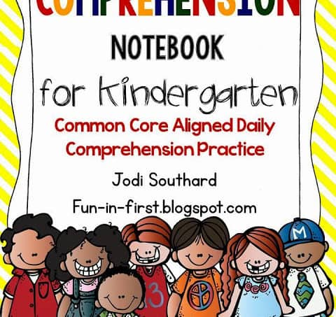 Kindergarten Comprehension Notebook