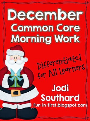 http://www.teacherspayteachers.com/Product/Common-Core-Differentiated-Morning-Work-for-December-426310
