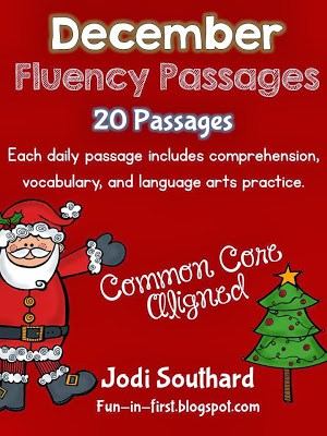 http://www.teacherspayteachers.com/Product/December-Fluency-Packet-169985