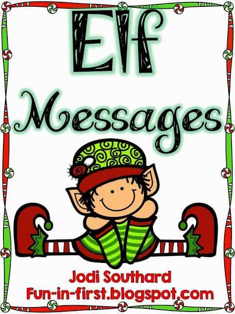 http://www.teacherspayteachers.com/Product/Elf-Messages-A-Freebie-1007948