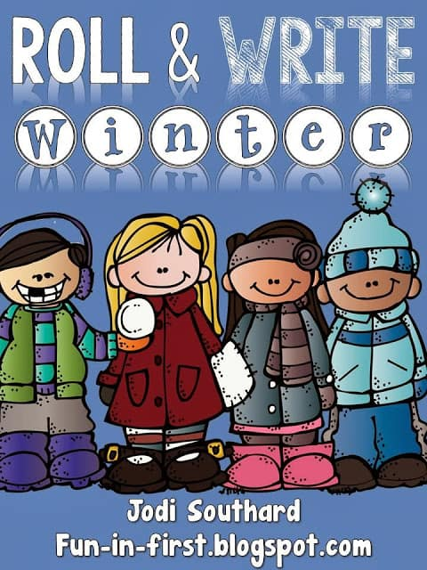 http://www.teacherspayteachers.com/Product/Roll-and-Write-Winter-Edition-1032591