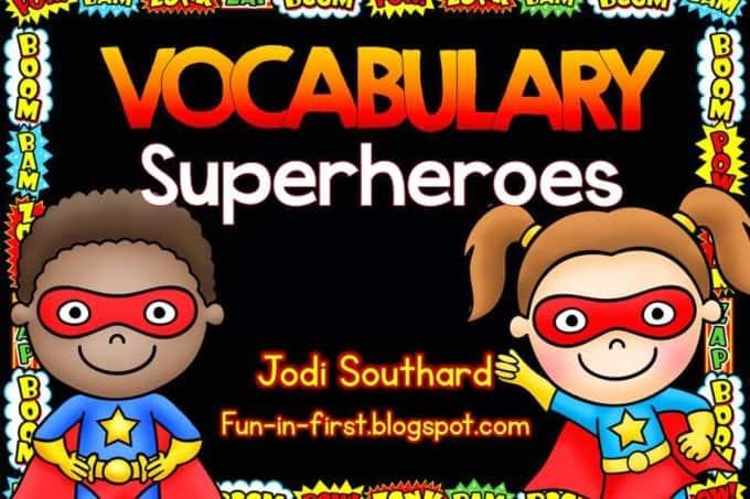 Superhero Vocabulary