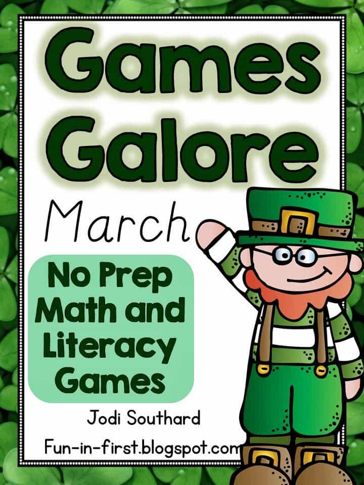 http://www.teacherspayteachers.com/Product/Games-Galore-No-Prep-Math-Literacy-Games-for-March-1136031