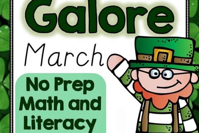 No Prep Games for March