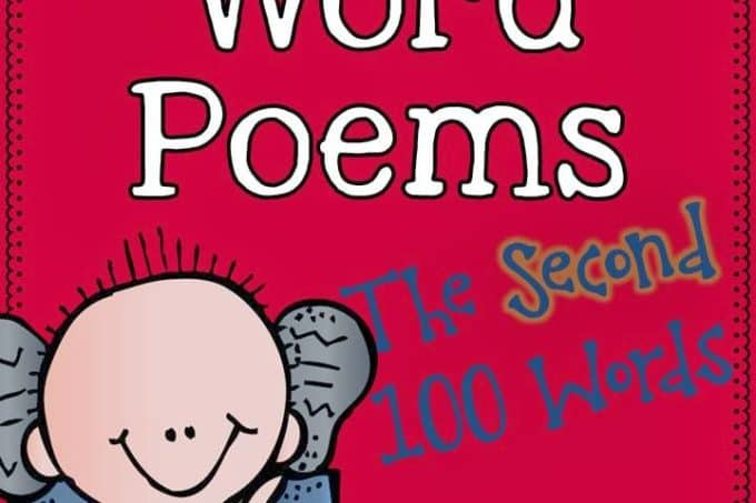 Sight Word Poems {Second 100 Words}