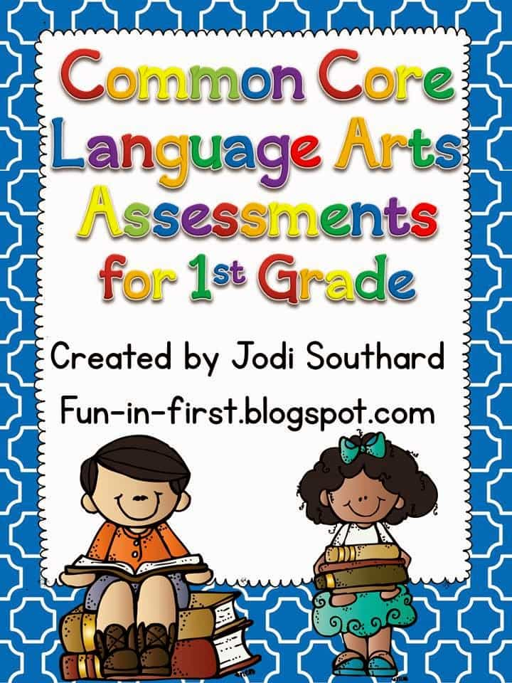 http://www.teacherspayteachers.com/Product/Common-Core-Language-Arts-Assessments-for-1st-Grade-274593