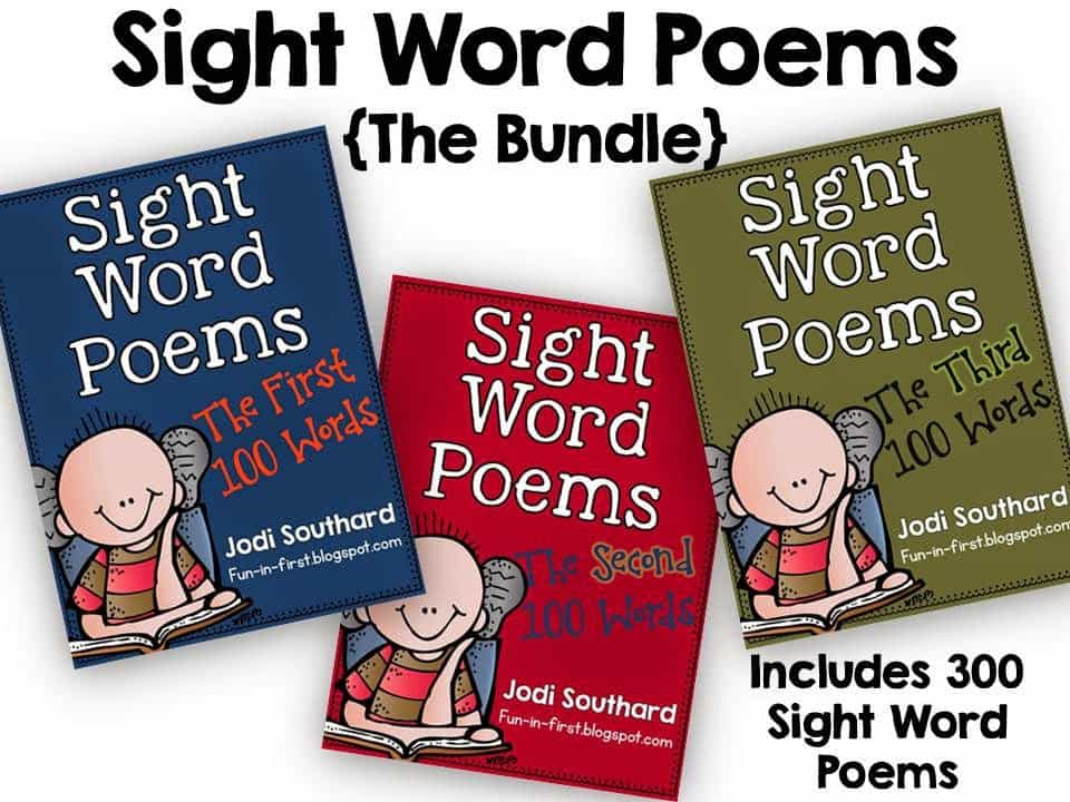 http://www.teacherspayteachers.com/Product/Sight-Word-Poems-The-Bundle-of-300-Poems-1292688