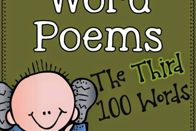 Sight Word Poems (The Third Set)