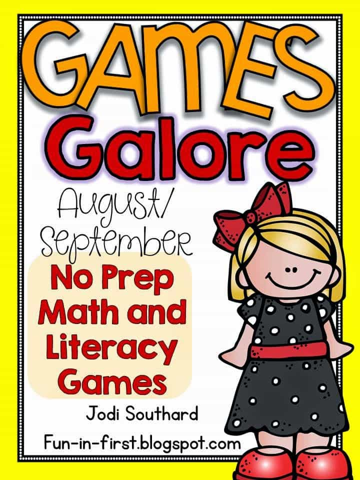 http://www.teacherspayteachers.com/Product/Games-Galore-No-Prep-Math-Literacy-Games-for-AugustSeptember-1349833