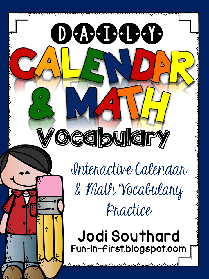 http://www.teacherspayteachers.com/Product/Daily-Calendar-Math-Vocabulary-1376899
