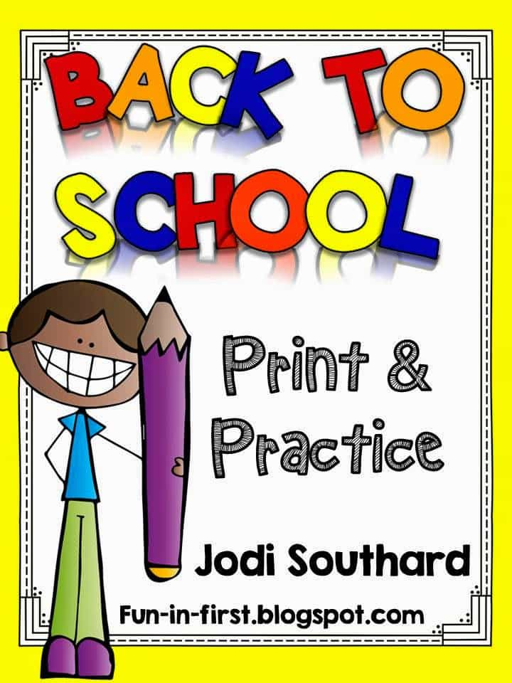 http://www.teacherspayteachers.com/Product/Print-and-Practice-Back-to-School-1370299