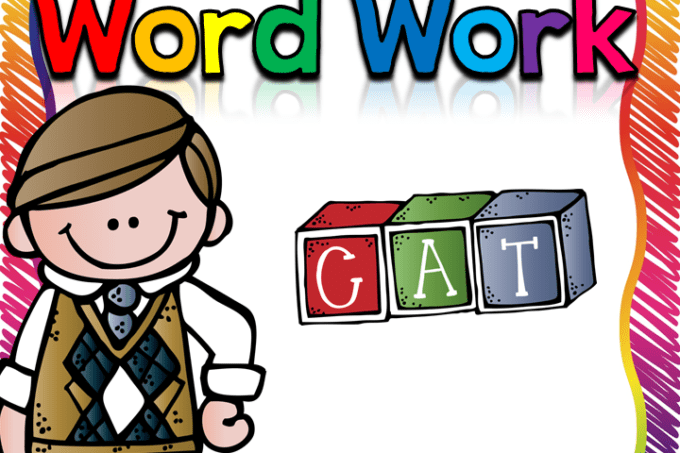 Word Work Archives - Fun in First