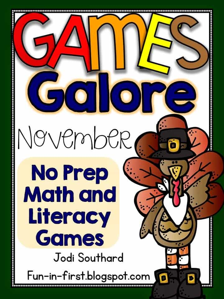 http://www.teacherspayteachers.com/Product/Games-Galore-No-Prep-Math-Literacy-Games-for-November-1505647