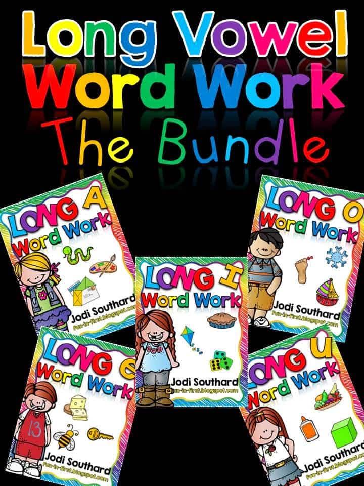 http://www.teacherspayteachers.com/Product/Word-Work-with-Long-Vowel-Bundle-1493277