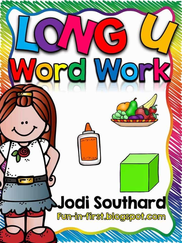 http://www.teacherspayteachers.com/Product/Word-Work-with-Long-u-1493281