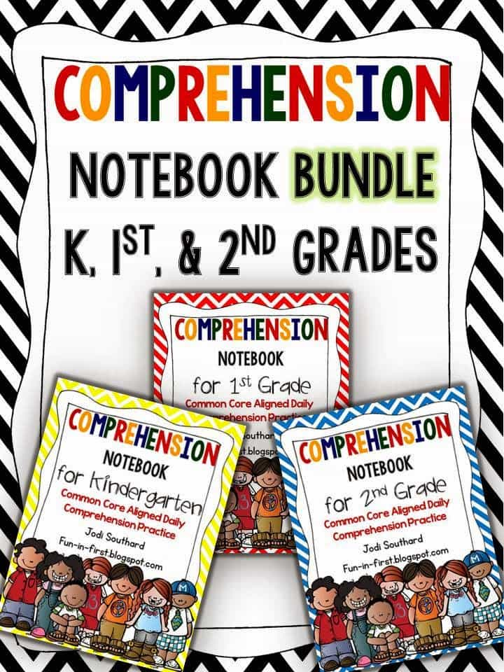 http://www.teacherspayteachers.com/Product/Comprehension-Notebook-The-K-1-2-Bundle-1620846