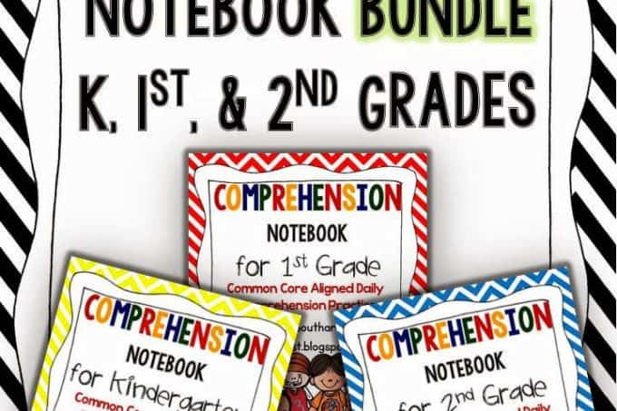 Comprehension Notebook Bundle