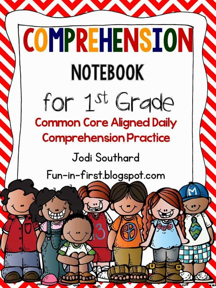 http://www.teacherspayteachers.com/Product/Comprehension-Notebook-1st-Grade-Edition-910528