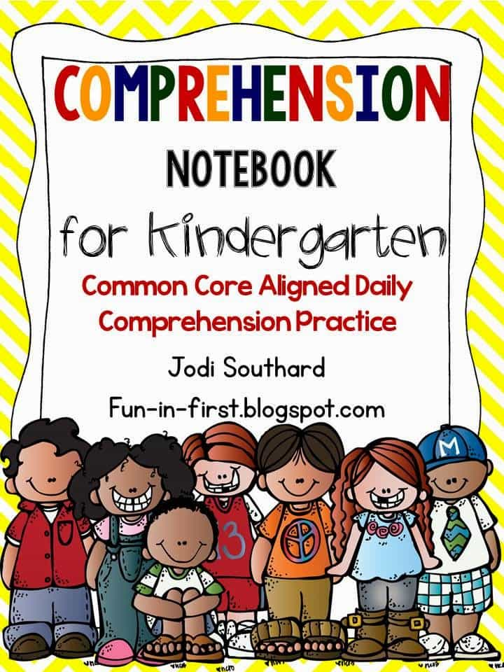 http://www.teacherspayteachers.com/Product/Comprehension-Notebook-Kindergarten-Edition-992705