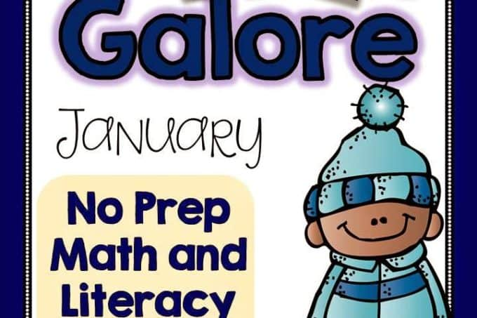 January Games Galore & A Teacher's List of Favorite Christmas Read Alouds