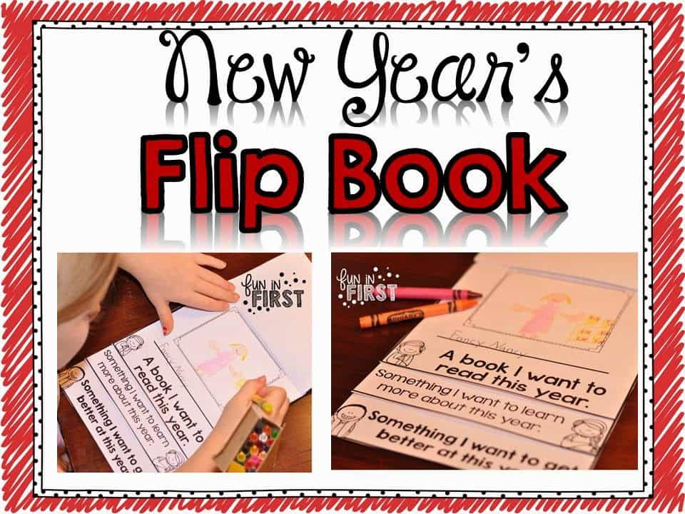 http://www.teacherspayteachers.com/Product/New-Years-Flip-Book-1629180
