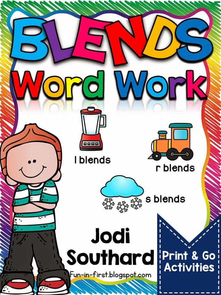 http://www.teacherspayteachers.com/Product/Word-Work-with-Blends-l-blends-r-blends-s-blends-1628633