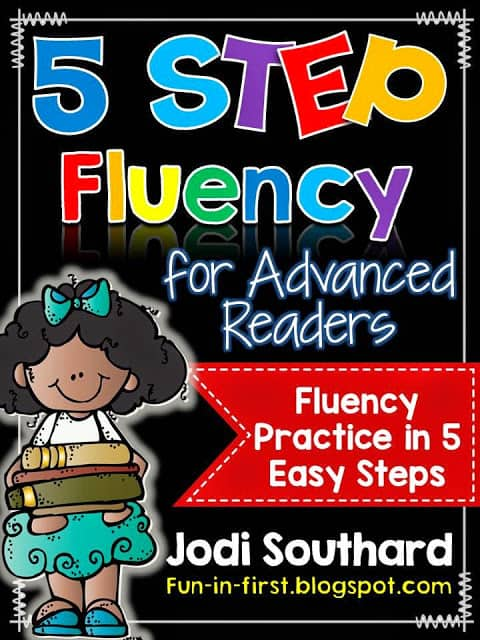 https://www.teacherspayteachers.com/Product/5-Step-Fluency-For-Advanced-Readers-1784140