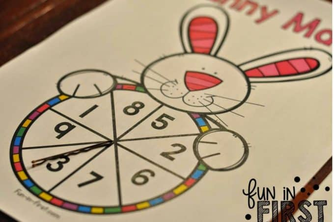 Bunny Math FREEBIE & April Nonfiction