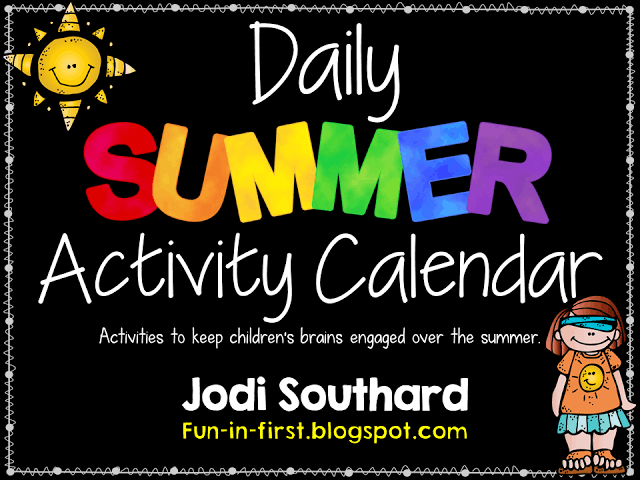 https://www.teacherspayteachers.com/Product/Summer-Activities-Calendar-Freebie-246066