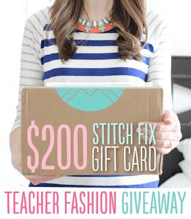 A Stitch Fix Treat for Teachers
