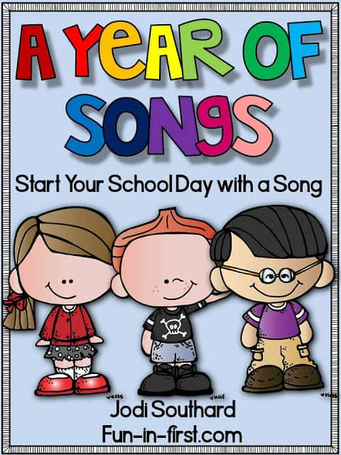 https://www.teacherspayteachers.com/Product/Songs-for-the-Year-1905598
