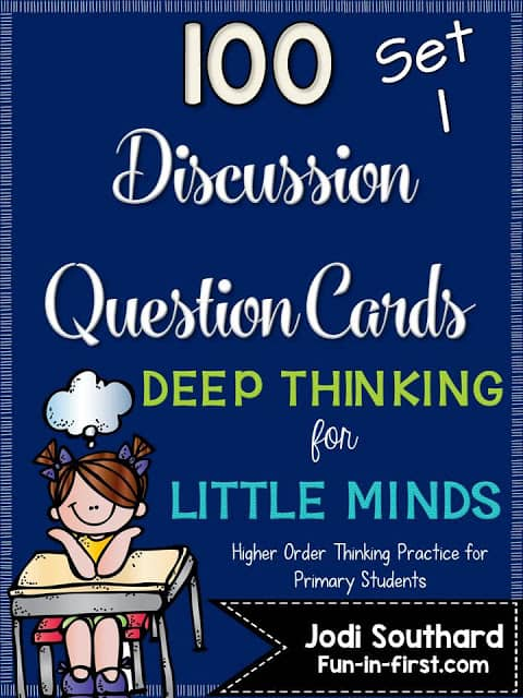 https://www.teacherspayteachers.com/Product/Discussion-Question-Cards-Deep-Thinking-for-Little-Minds-1954159