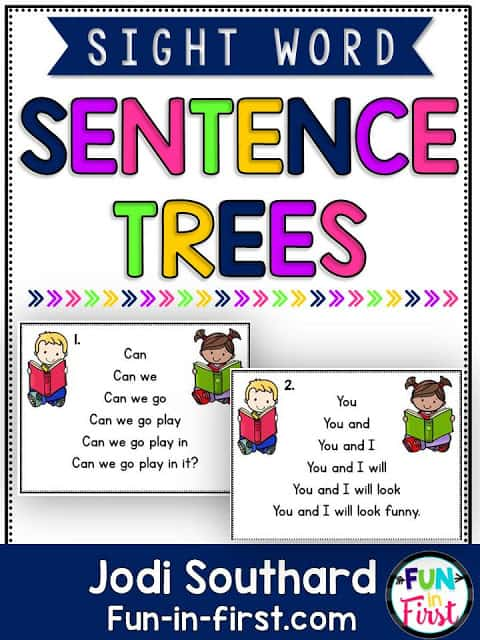 https://www.teacherspayteachers.com/Product/Sight-Word-Sentence-Trees-Fluency-Practice-Cards-1982530