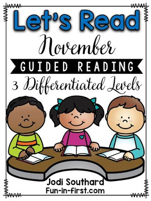 https://www.teacherspayteachers.com/Product/Guided-Reading-November-2167976