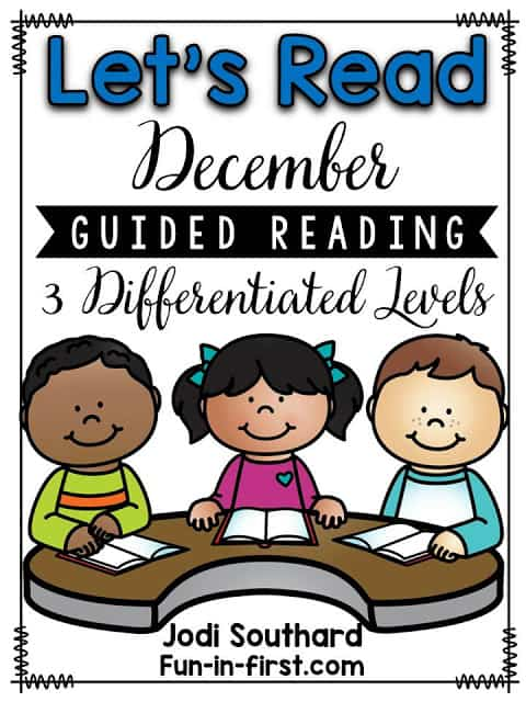 https://www.teacherspayteachers.com/Product/Guided-Reading-December-2212340
