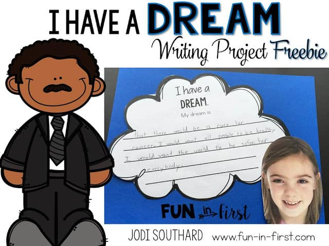 https://www.teacherspayteachers.com/Product/I-Have-a-Dream-Martin-Luther-King-Jr-Writing-FREEBIE-2297109