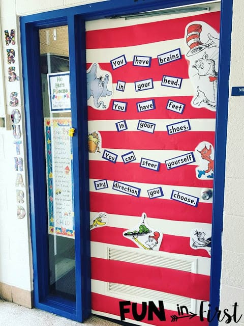 Classroom Decoration Dr Seuss ~ A week on instagram fun in first