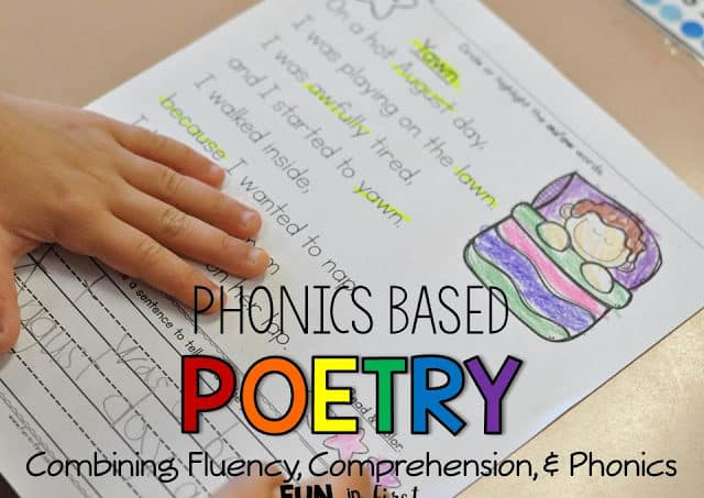 Phonics Based Poetry