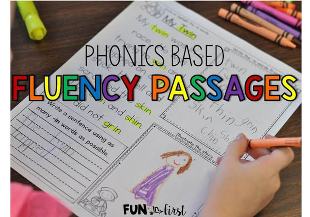 Phonics Based Fluency Passages