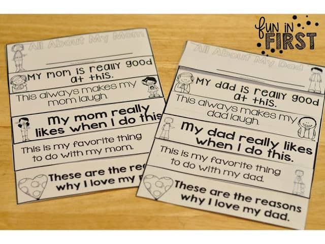https://www.teacherspayteachers.com/Product/Mothers-Day-Fathers-Day-Flip-Books-1810776
