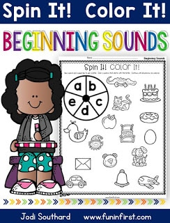 https://www.teacherspayteachers.com/Product/Beginning-Sounds-Spin-It-Color-It-2625952