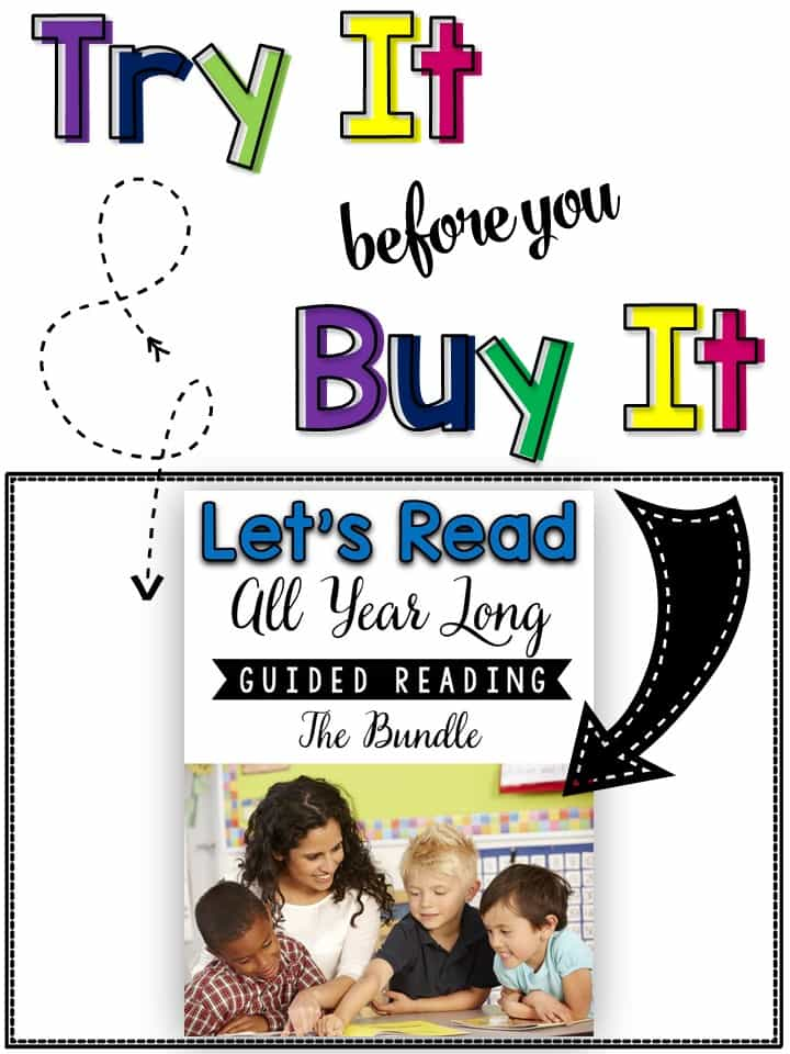 Guided Reading Sample Packet