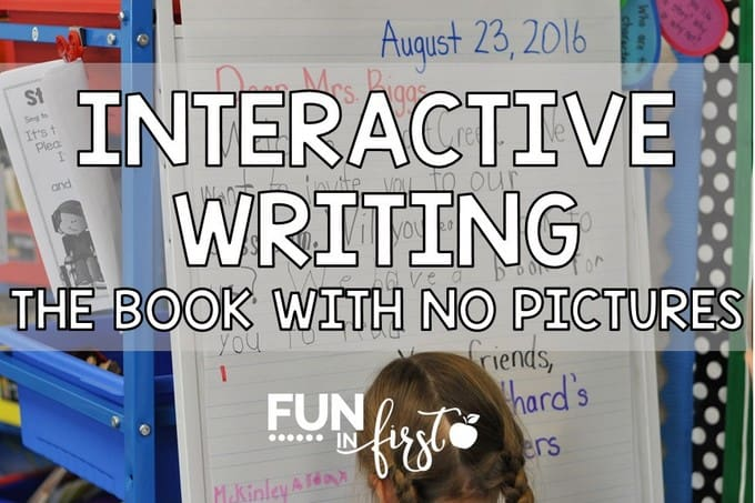 Interactive Writing Using The Book With No Pictures