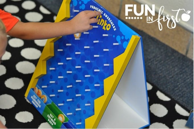 Word Work Activities for Work Stations from Fun in First