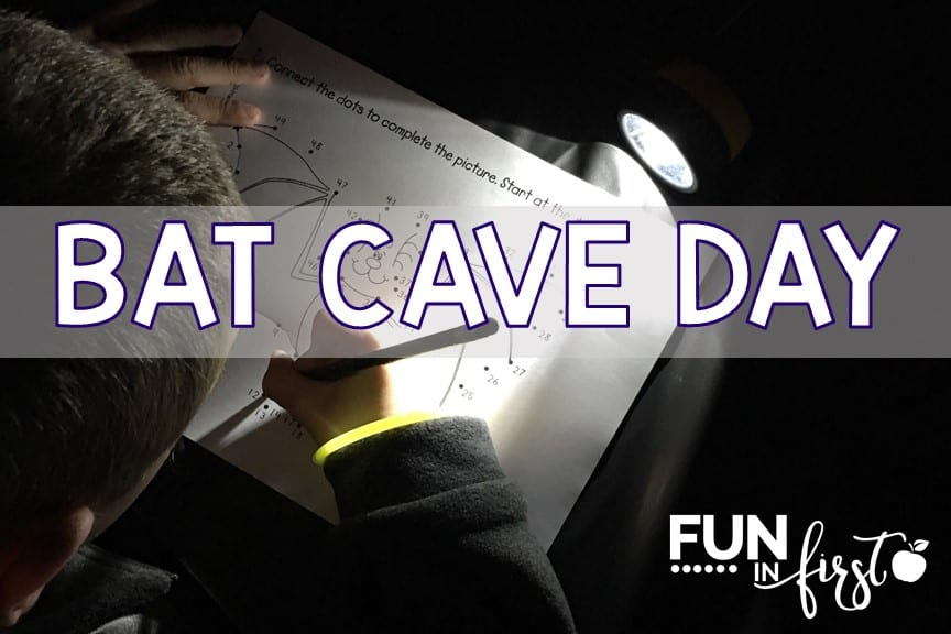 Students will love having a Bat Cave Day using these ideas and activities from Fun in First.